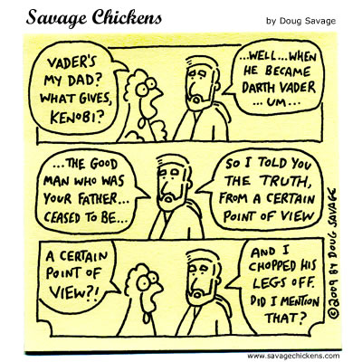 Savage Chickens - A Certain Point of View