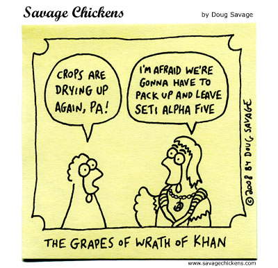 Savage Chickens - Wrath
