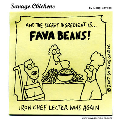 Savage Chickens - Iron Chef