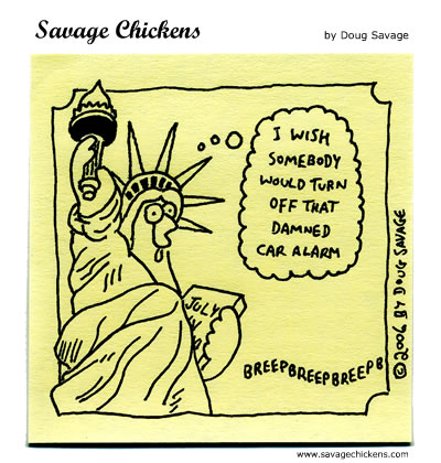 Savage Chickens - Liberty