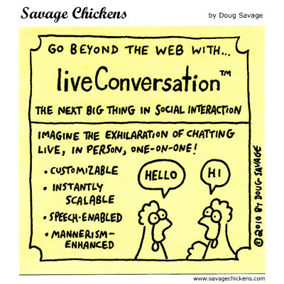 Savage Chickens - Beyond the Web