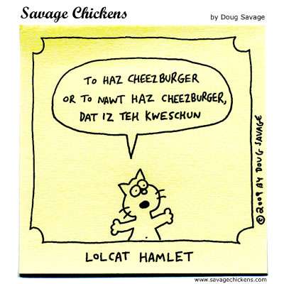 Savage Chickens - Kweschun