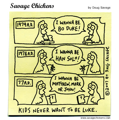 Savage Chickens - Play Time