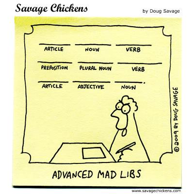Savage Chickens - Wacky Word Fun