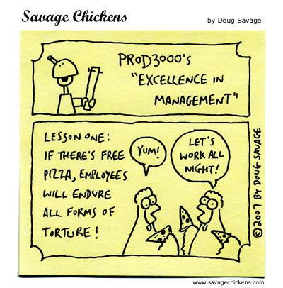 Savage Chickens - Management Training