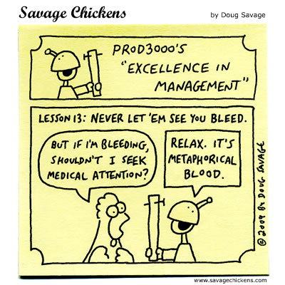 Savage Chickens - Excellence in Management 13