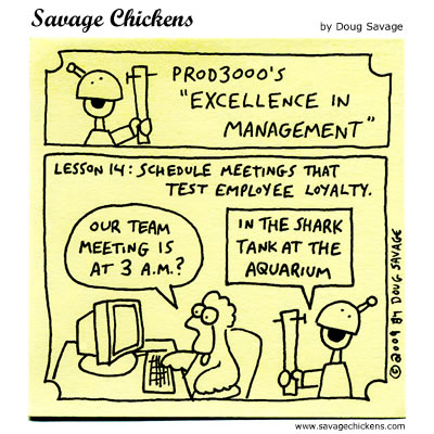Savage Chickens - Excellence in Management 14