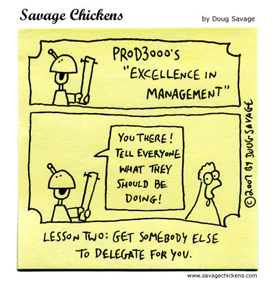 Savage Chickens - Excellence in Management 2