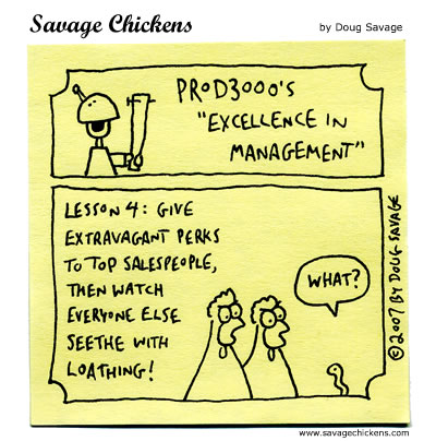 Savage Chickens - Excellence in Management 4