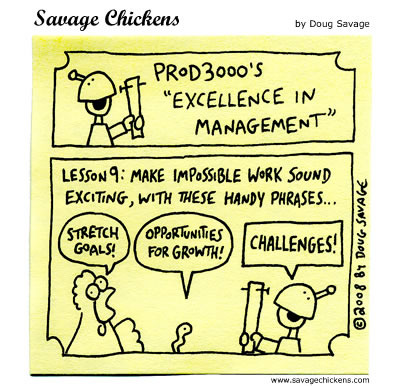 Savage Chickens - Excellence in Management 9