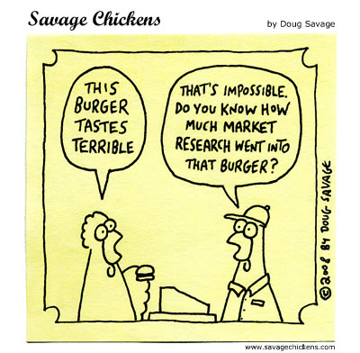 Savage Chickens - The Perfect Burger