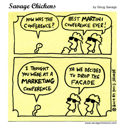 Savage Chickens - The Conference