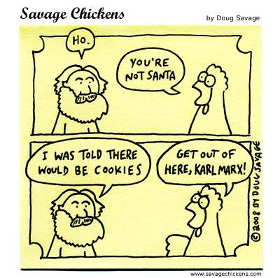 Savage Chickens - Impostor