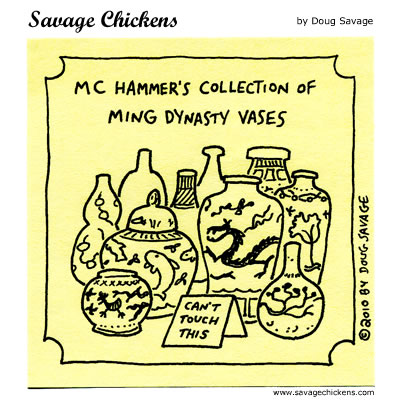 Savage Chickens - Ming Collector