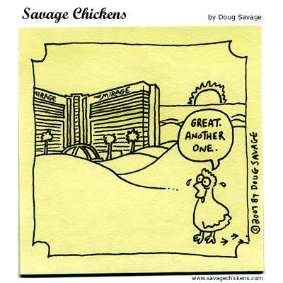 Savage Chickens - The Desert