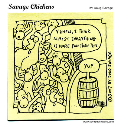 Savage Chickens - Monkeys!