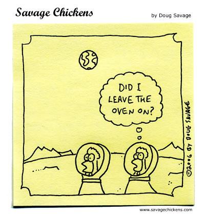 Savage Chickens - Moonstruck