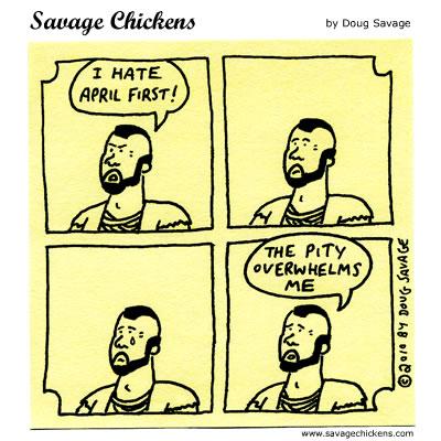 Savage Chickens - April 1st