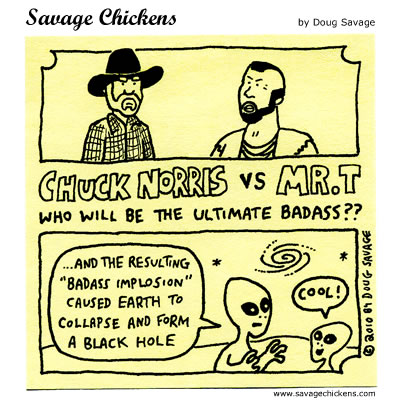 Savage Chickens - Ultimate Badass III