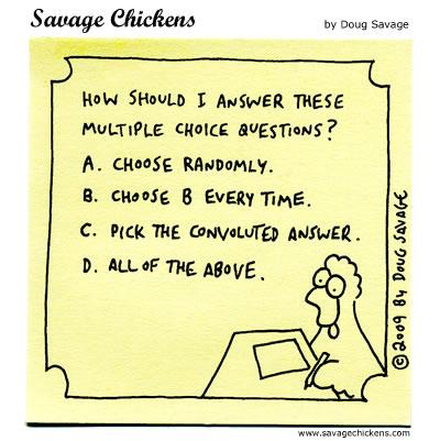 Savage Chickens - Choice