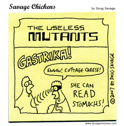 Savage Chickens - Useless Mutants 2