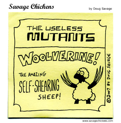 Savage Chickens - Useless Mutants 4
