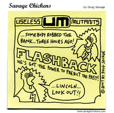 Savage Chickens - Flashback!