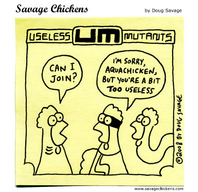 Savage Chickens - Rejected!