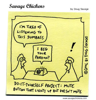 Savage Chickens - Mute