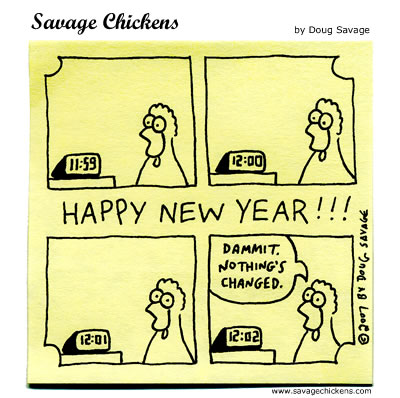 savage chickens new years eve