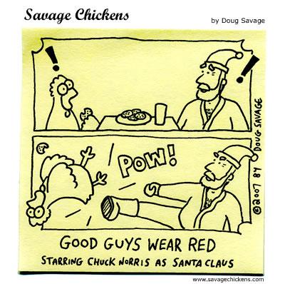 Savage Chickens - Christmas Revenge