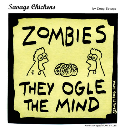 Savage Chickens - Zombies!