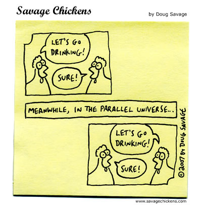 Savage Chickens - Science Fiction