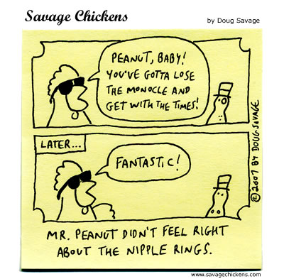 Savage Chickens - Peanut