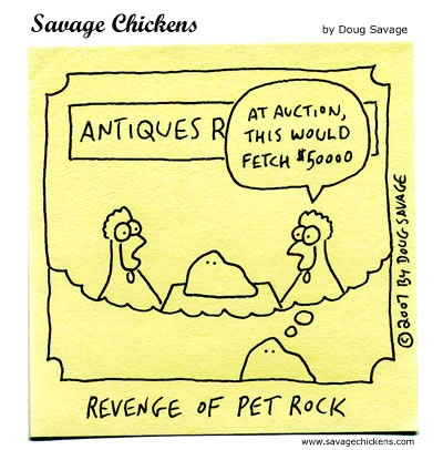 Savage Chickens - Pet Rock 2