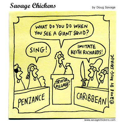 Savage Chickens - Trivia Pillage
