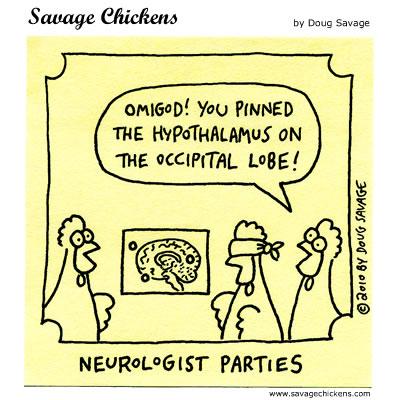 Savage Chickens - Hypothalamus