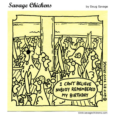 Savage Chickens - Pirate Battle