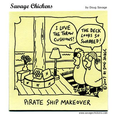 Savage Chickens - Talk Like A Pirate 2007