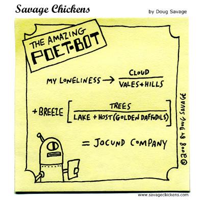 Savage Chickens - Wordsworth