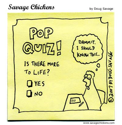 Savage Chickens - Pop Quiz