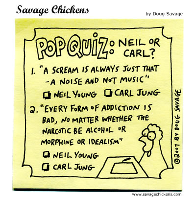 Savage Chickens - Neil or Carl?