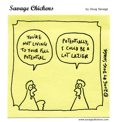Savage Chickens - Full Potential