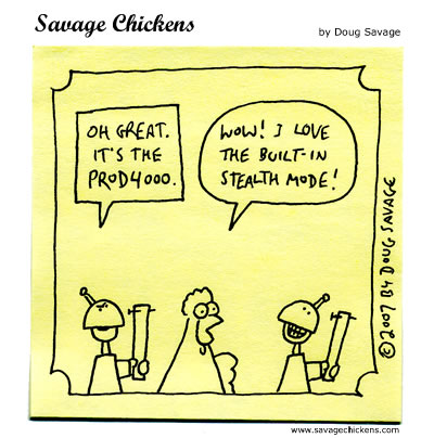 Savage Chickens - Progress