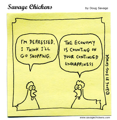 Savage Chickens - Prosperity