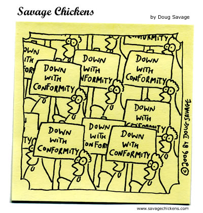 Savage Chickens - Protest Rally