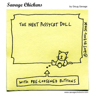 Savage Chickens - Pussycat Doll