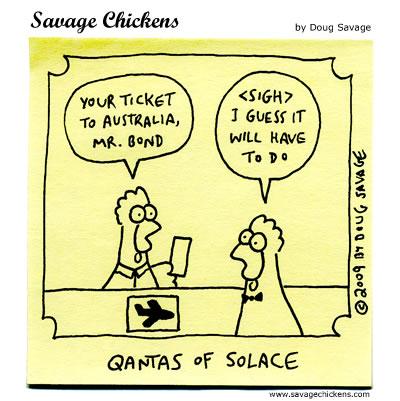 Savage Chickens - James Bond