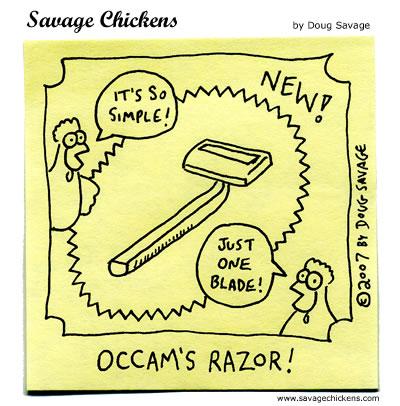 Savage Chickens - Razor