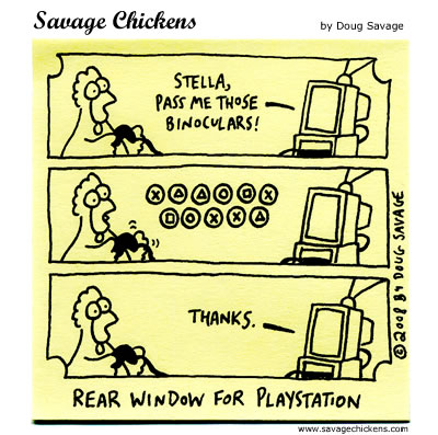 Savage Chickens - Game of Suspense